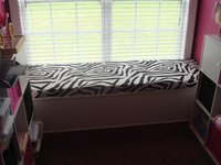 Zebra Window Bench Cushion