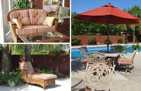 Custom Sunbrella Outdoor Cushions & Umbrellas