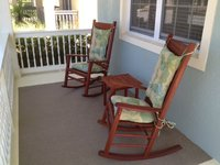 Rocking Chair Cushions in Geobella Fabric