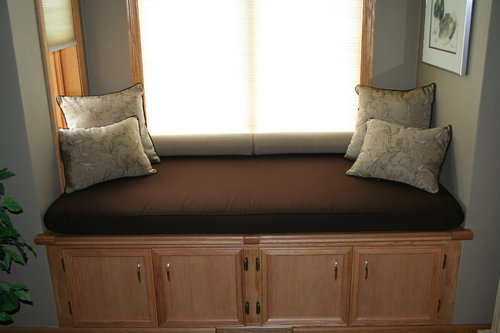 Indoor Custom Window Seat Cushion