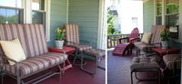 Custom Sunbrella Cushions Rejuvenate Front Porch