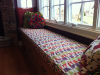 Festive Window Seat Cushion