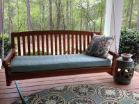 love it - new porch swing cushion!