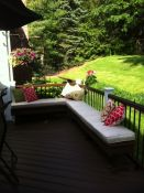 inviting deck seating cushions