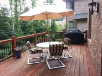 Patio Set With New Custom Cushions