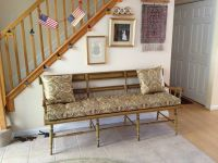 Foyer Bench Cushion & Pillows