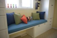 Nursery Window Seat with Cushion