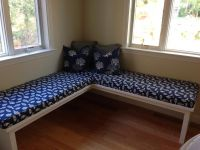 Custom Dining Nook Bench Cushions