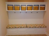 Our New Built-in Bench Cushions