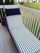 balcony chaise lounge