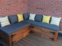 Our Lovely Deck Bench