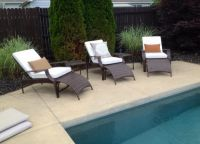 My Outdoor Sunbrella Chaise Cushions
