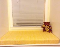 Yellow Window Seat Cushion