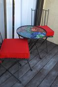 Red Patio Seat Cushions