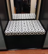 Custom Closet Bench Cushion