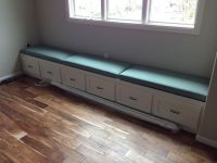 Custom Bench Window Seat Cushions