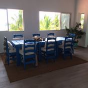 Beach House Dining Room Cushions