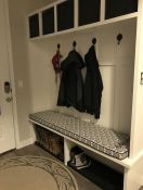 Custom Made Cushion for Entry Mudroom