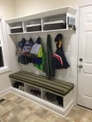 Bench Cushion Mudroom