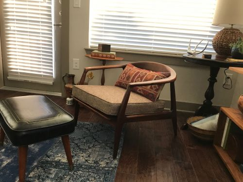 how to make cushions for mid century chair