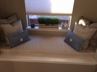 Custom Sunbrella Window Seat Cushion