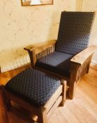Morris-Stickley Chair With Custom Cushions