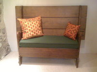 Antique Bench Cushion