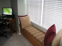 Media Room Window Seat
