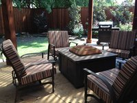 New Sunbrella Brannon Redwood Cushions