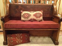 Robert Allen Bench Cushion Antique Church Pew