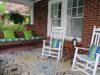 Custom Sunbrella Porch Swing Cushion