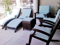 Patio Makeover | Chaise | Seat | Back Cushions