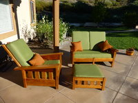 Garden Set with Sunbrella Deep Seating Cushions