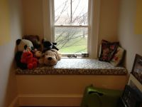 Custom Sunbrella Nursery Window Seat Cushion