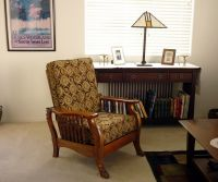 Morris Chair & Cushion