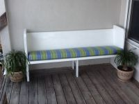 One Church Pew, Two Benches