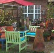Outdoor Sanctuary With Sunbrella Seat Cushions