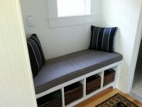Entry Window Seat Cushion & Pillows