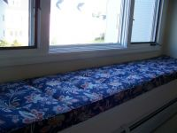 Custom Window Seat Cushions With Buttons