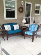Patio With Sunbrella Wicker Replacment Cushions