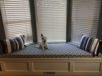 Custom Bay Window Seat Cushion