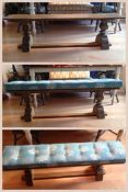 Nautical Dining Bench Cushion