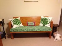 Custom Robert Allen Church Pew Bench Cushion
