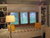Sunbrella Custom Window Seat Cushion