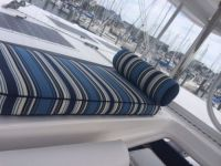 Custom Catamaran Bench Cushions & Pillows