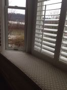 River View Window Seat & Robert Allen Cushion