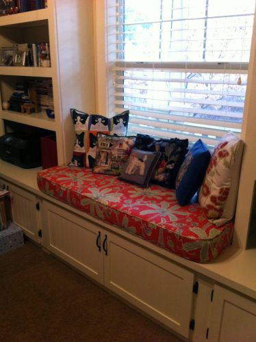 Window Seat Library: Window Seat Cushion In Library
