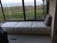 Seaside Window Seat Cushions In Sunbrella Canvas