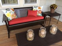Vintage Porch Glider Cushion - Customer's Fabric