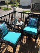 Deck Chair Cushions & Pillows Made With Sunbrella